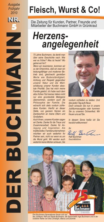 Die Zeitung für Kunden, Partner, Freunde und ... - Buchmann GmbH