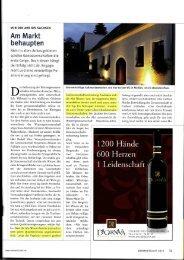 Am Markt behaupten - Dagernova Weinmanufaktur