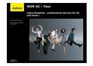 WZN UC - Tour