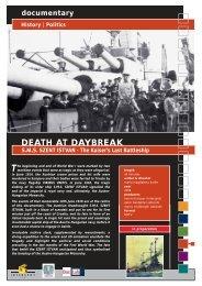 Politics DEATH AT DAYBREAK SMS SZENT ISTVAN - Interspot Film