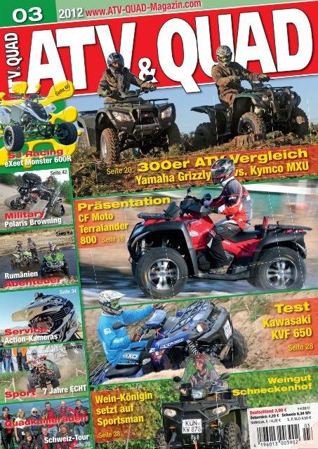300er ATV-Vergleich Yamaha Grizzly vs. Kymco MXU ... - Bayernquad