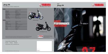 Jog R Jog R - Yamaha Motor Europe