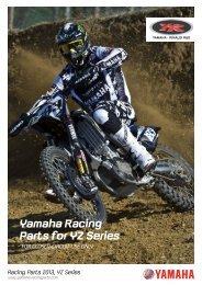 2013 YRRD - Yamaha Racing Parts