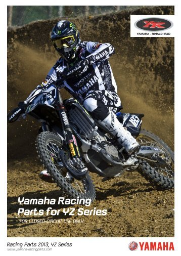 2013 YRRD - Yamaha Racing Parts