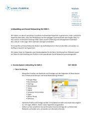 10 qualitativ hochwertige Backlinks auf kostenlosten ... - Link-Fabrik