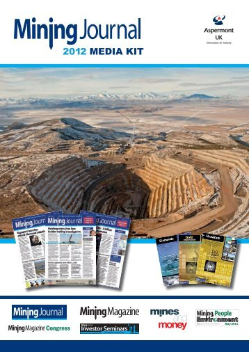 In person… Online… E-mail newsletters… - Mining Journal