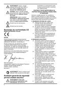 """fierăstrău circular fără fir 6-1/2"""" (165 mm) 18 v dcs391 - Page 6"""