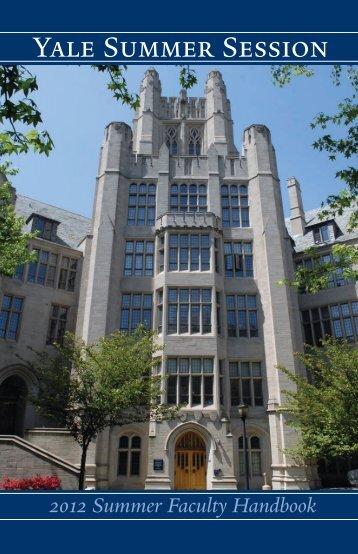 Yale Summer Session and Yale University
