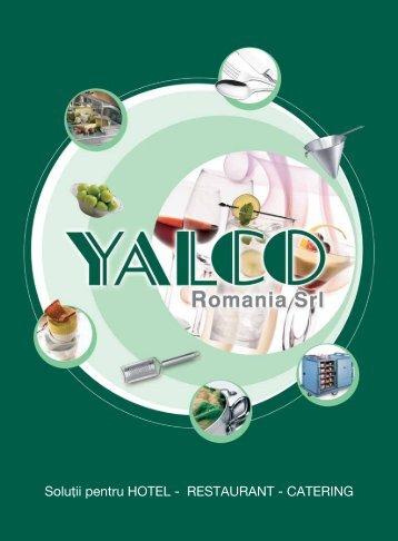 Descarca acum catalogul HORECA - Yalco Romania