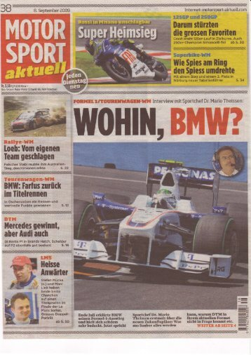 MSa - Ausgabe 2009-38 - RS-Sportbilder