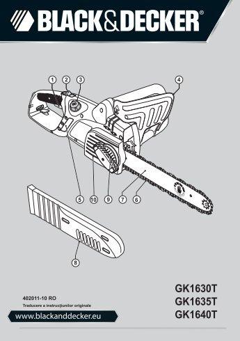 GK1630T GK1635T GK1640T - Black & Decker