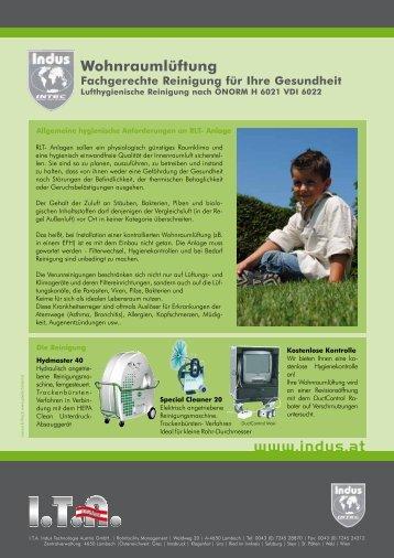 Fachgerechte Reinigung für Ihre Gesundheit - ITA Indus ...