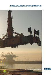 The World Leader In Mobile Harbour Crane Spreaders