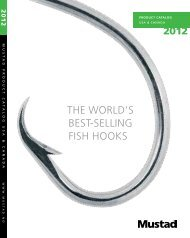 THE WORLD'S BEST-SELLING FISH HOOKS - Mustad