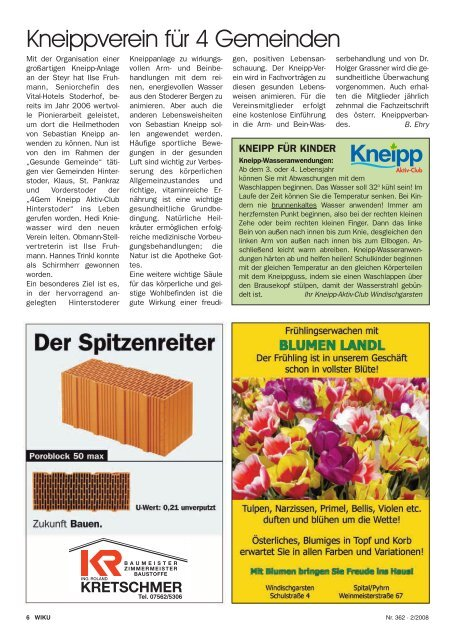 Ausgabe 362 - wiku-online.at