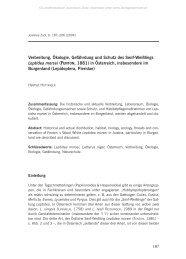 Verbreitung, Ökologie, Gefährdung und Schutz des Senf-Weißlings ...