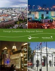 Foreign Companies in Regional Detroit - Oakland University