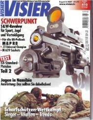 Standardpistolen .22 Ir - Teil 2 - Matchguns