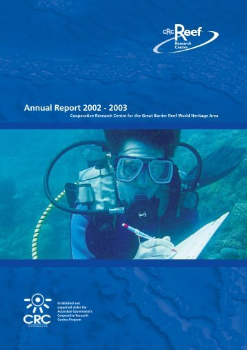 Annual Report 2002 - 2003 - CRC Reef Research Centre