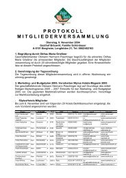 protokoll mitgliederversammlung