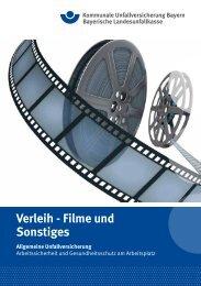 Verleih - Kommunale Unfallversicherung Bayern