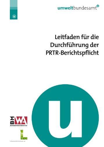 Leitfaden für die Durchführung der PRTR-Berichtspflicht
