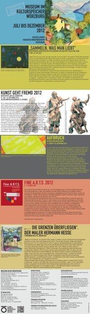 Fine A.R.T.S. - Kulturspeicher