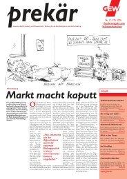 GEW Prekär 17 (Mai 2006)