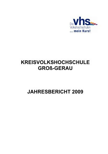 Seite - Kreisvolkshochschule Groß-Gerau