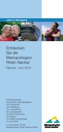 Entdecken Sie die Metropolregion Rhein-Neckar - Volkshochschule