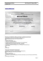 Ausgabe 05 vom 03. Februar 2012.pdf - Gemeinde Dossenheim