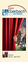Termine Januar - April 2012 - Stadt Eberbach: Home