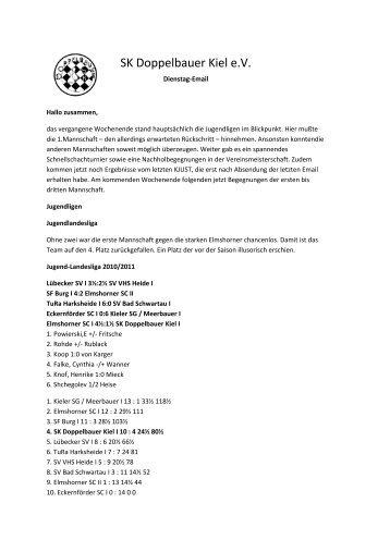 SK Doppelbauer Kiel e.V. - beim SK Doppelbauer Kiel!