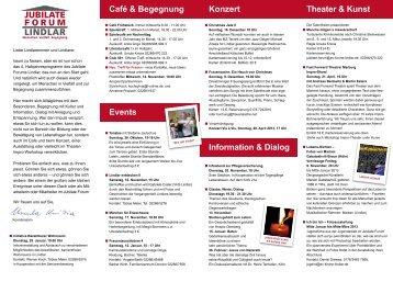 4. Programm November 2012 - Evangelische Kirchengemeinde ...