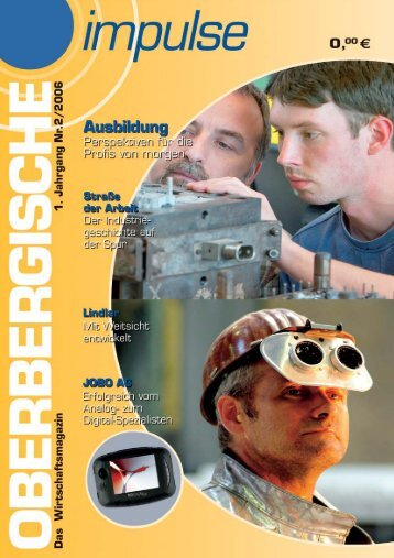 Oberbergische Impulse II / 2006 - Gründer