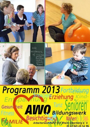 Arbeiterwoh Arbeiterwohlfahrt - AWO Oberberg