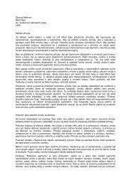 Simona Mehnert Milo ejn ifa / Institut pro zahrani ní styky 1995 Zá ...