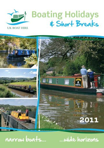 Download 2011 brochure - UK Boat Hire
