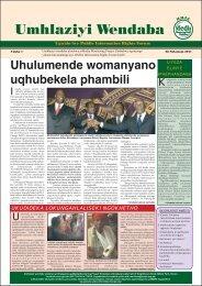 News Monitor Ndebele.pdf - Media Monitoring Project of Zimbabwe