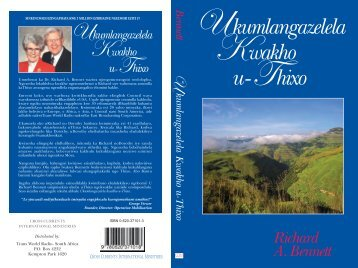 Xhosa - Your Quest for God.pdf - Cross Currents International ...