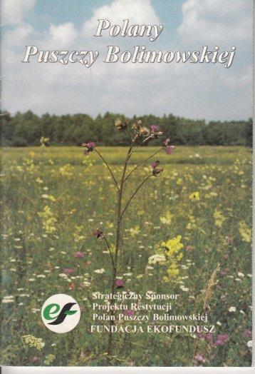 Polany Puszczy Bolimowskiej - Bolimowski Park Krajobrazowy