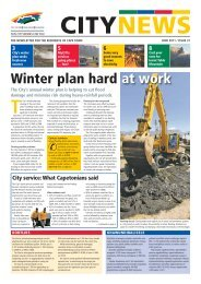 citynews - City of Cape Town