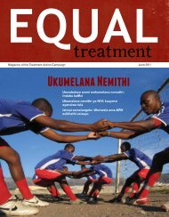 Ukumelana Nemithi - Treatment Action Campaign