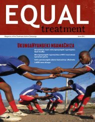 Umsebenzi woku- thengisa ngomzimba ne-HIV - Treatment Action ...