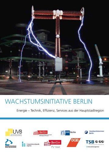 Wachstumsinitiative Berlin - Unternehmensverbände Berlin ...