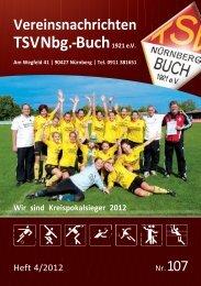 TSVNbg.-Buch1921 e.V. - TSV Nürnberg-Buch 1921 eV