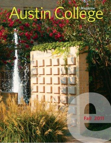 Fall 2011 - Austin College Magazine