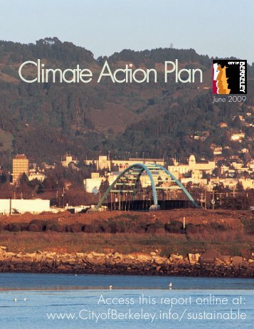 Access this report online at: www.CityofBerkeley.info/sustainable