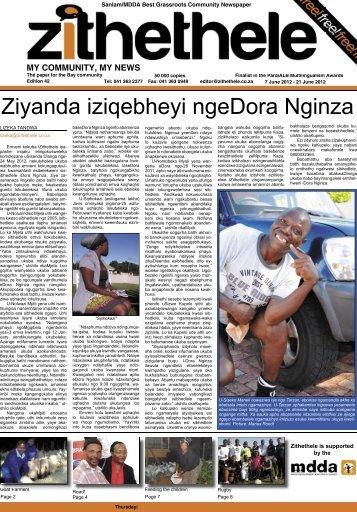 my community, my news - Zithethele