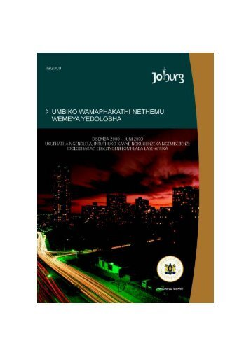 HIV AND AIDS - Joburg